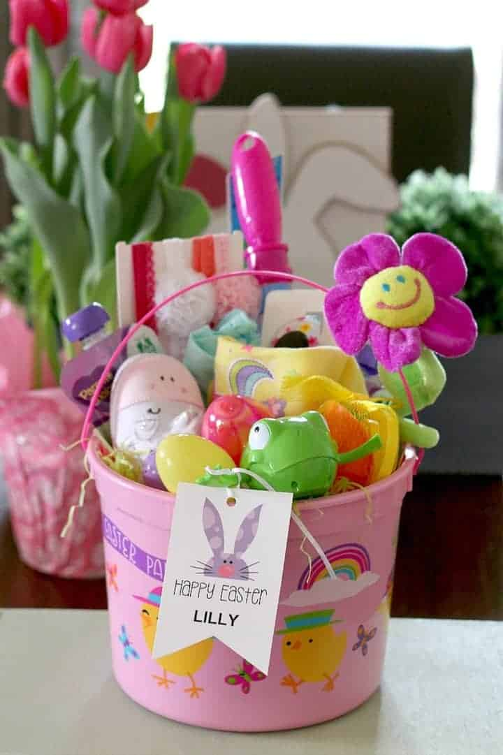 Easy Easter Basket for Baby