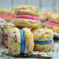 Funfetti Whoopie Pies Square Featured Image