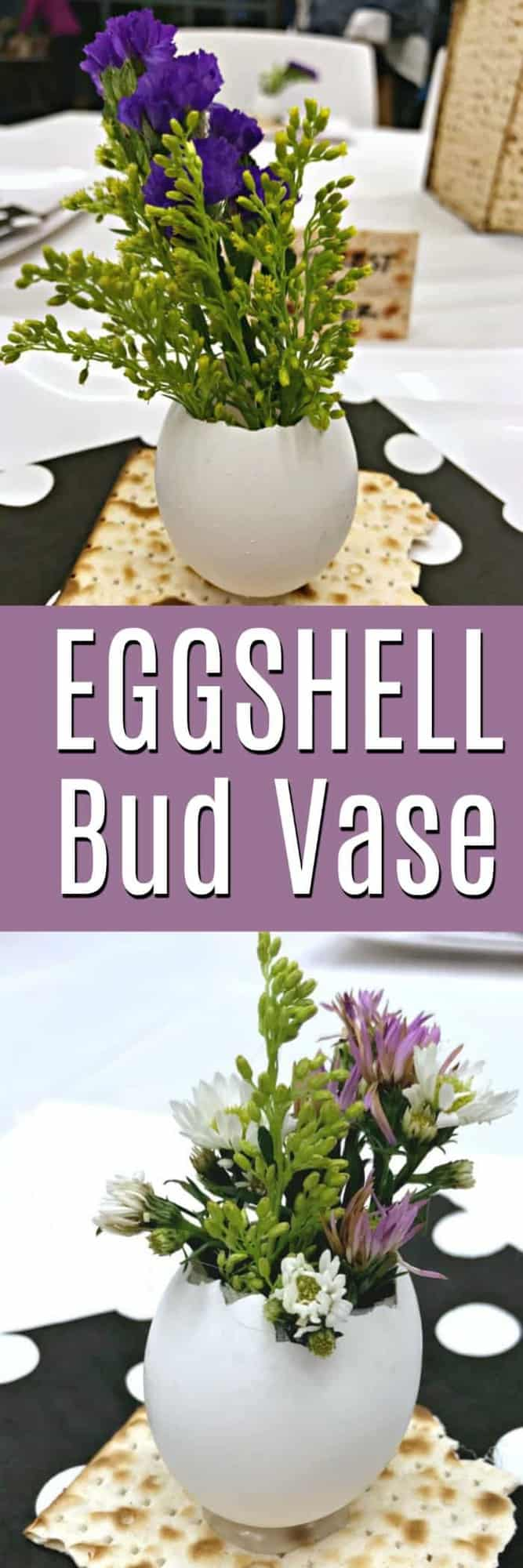 How to make an Eggshell Bud Vase