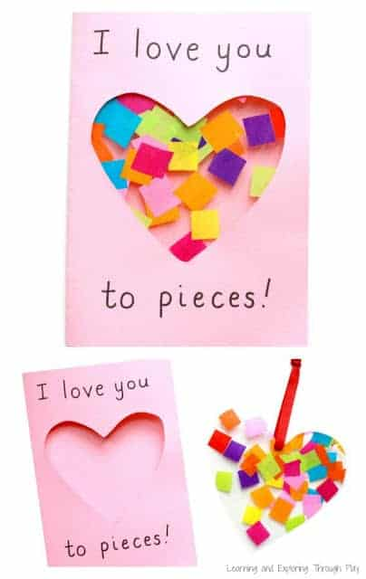 Love Your to Pieces Card | Fabulous Ideas for Mothers Day