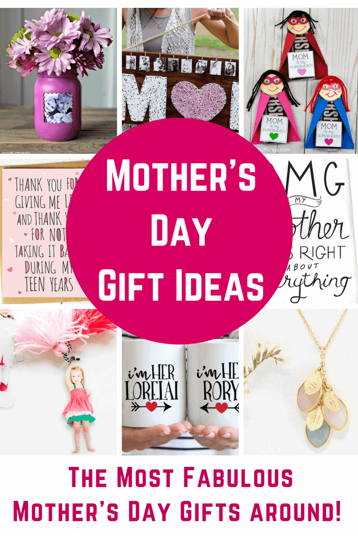 These Mother's Day gift ideas are going to make all of the women on your list very happy! Want to make your own DIY Mother's Day Gift or did you wait until the last minute and need to buy the perfect gift for mom? Either way, we've got you covered!