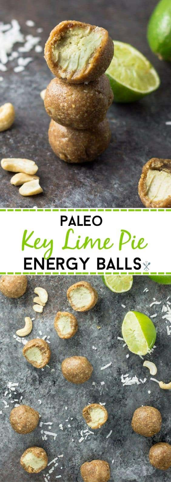 Paleo Key Lime Pie Energy Balls by Physical Kitchness | The best collection of energy bites recipes around!