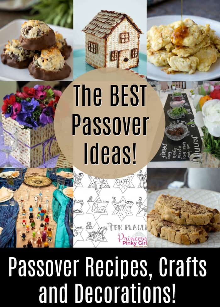 The best Passover Recipes, Crafts, tablescapes and Decorations for you sedar