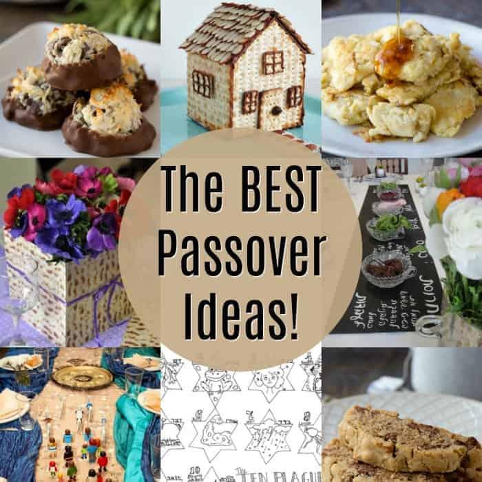 The Best Passover Recipes Fun Sedar Ideas Princess Pinky Girl