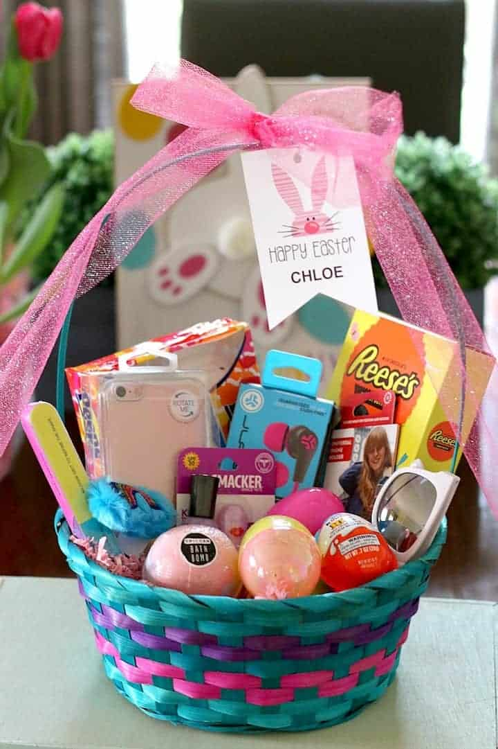 Kids easter basket ideas made easy for baby kids and tween tween girl easter basket ideas negle Gallery