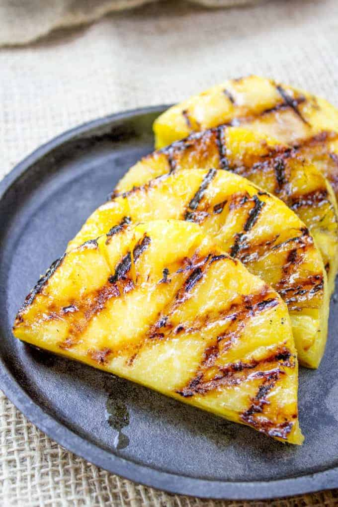 Brown Sugar Grilled Pineapple by Dinner Then Dessert | Grilling Hacks and Delicious Grilling Recipes
