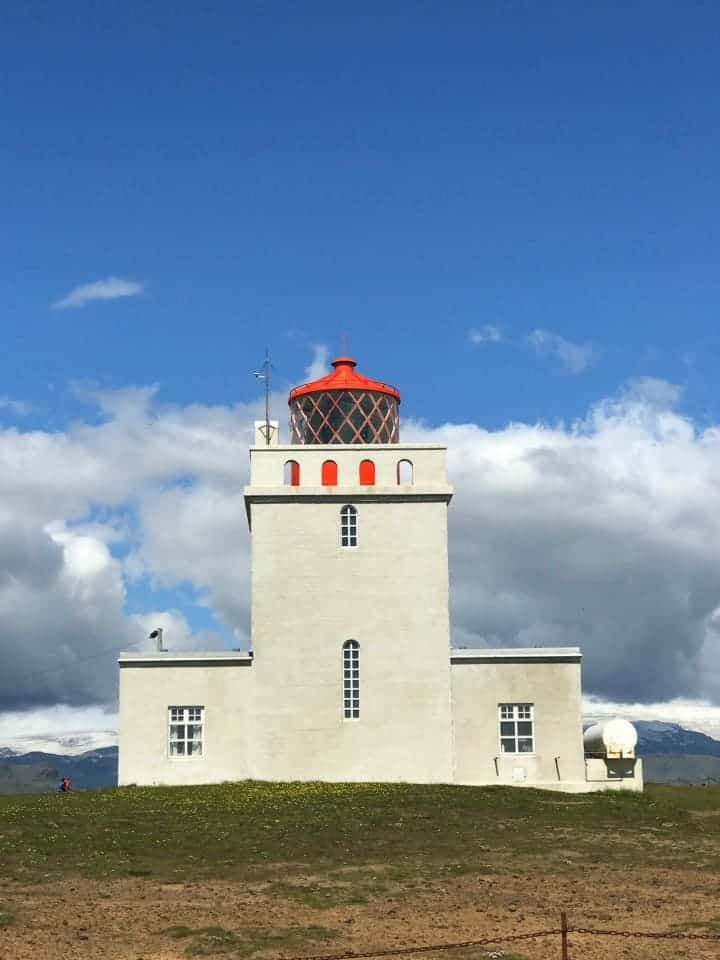 Dyrolaey lighthouse