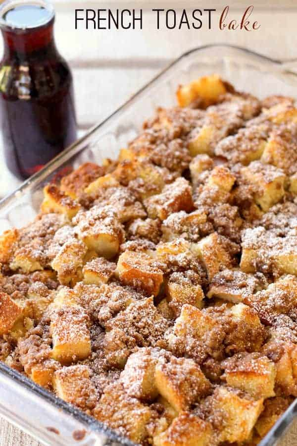 French Toast Bake by Lil Luna | 24 Casseroles You'll Want to Make This Week!