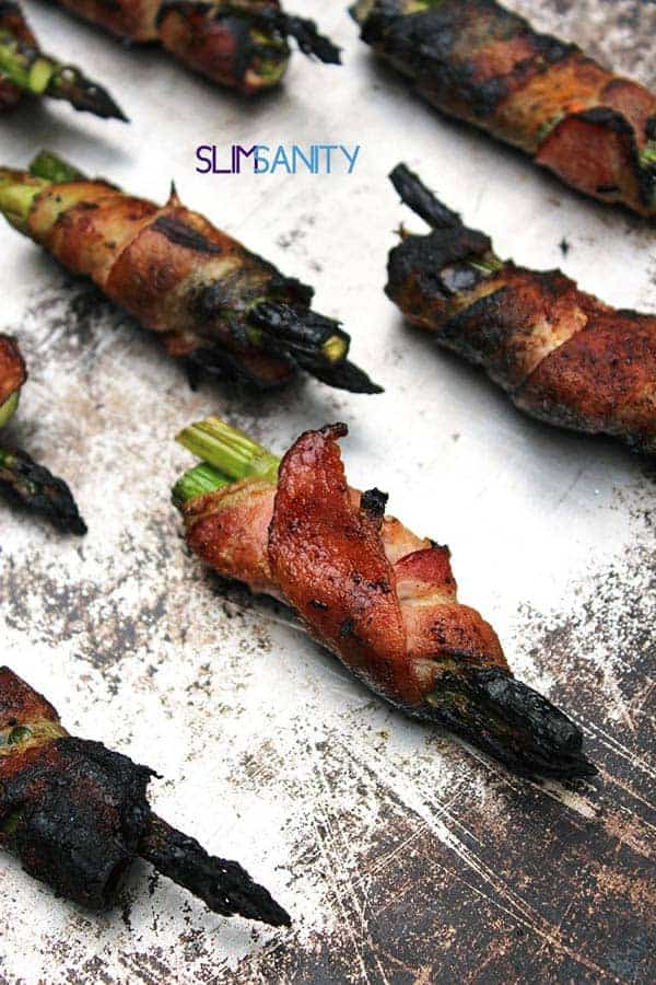 Grilled Bacon Wrapped Asparagus | Great Grilling Hacks and Recipes