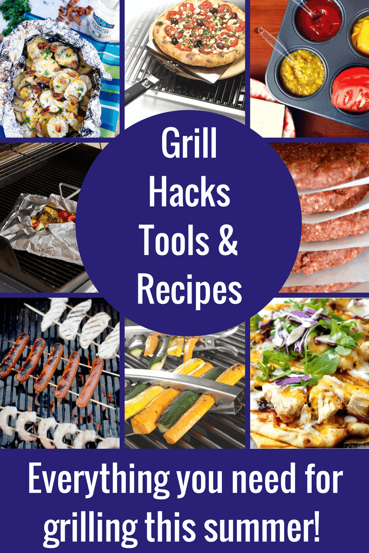 Grilling Hacks, Tools & Yummy Grilling Recipes