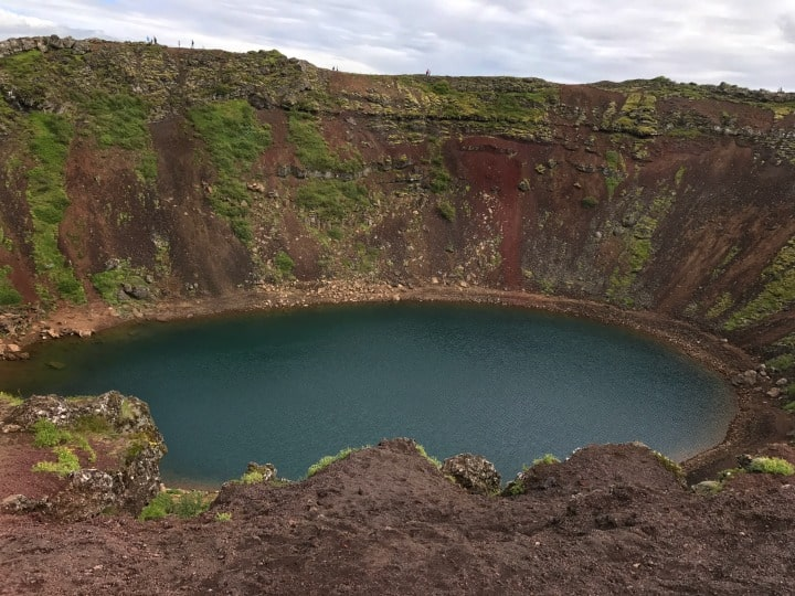 Iceland Kerio Crater