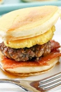 Pancake breakfast sliders square featured