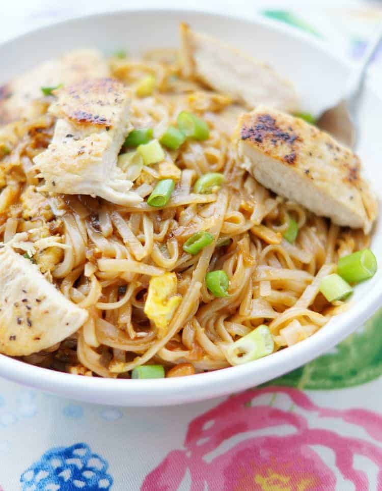 Chicken Pad Thai Recipe Easy And Delicious Princess Pinky Girl