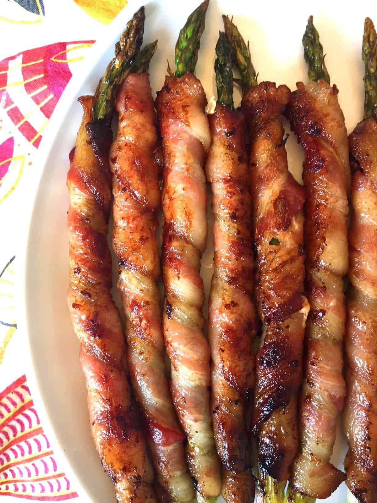 Bacon Wrapped Asparagus by Melanie Cooks | The best and super easy recipes for entertaining!