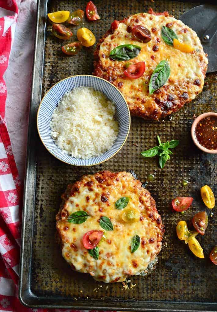Chicken Parmesan Pizza Style by This is How I Cook | These are great entertaining recipes and party food ideas. So many to pick from!