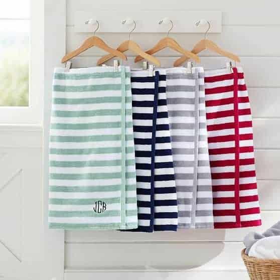 Classic Bath Wrap | Dorm Room Essentials