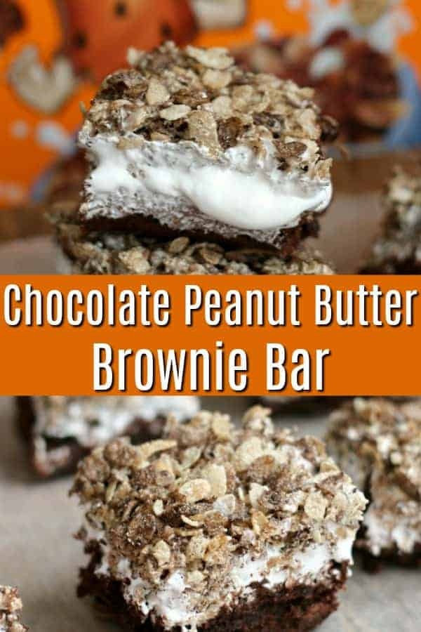 Chocolate Peanut Butter Brownie Bar