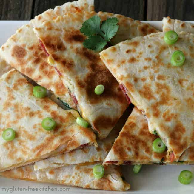 Gluten Free Bacon Ranch Quesadillas | Gluten Free Recipes for Every Occasion