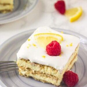 Lemon icebox cake is the perfect easy summer dessert recipe.