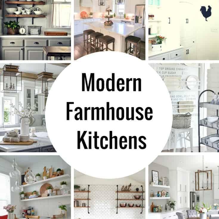 Dreamy Modern Farmhouse Kitchen Decor Ideas & Dreamy Modern Farmhouse Kitchens - Princess Pinky Girl