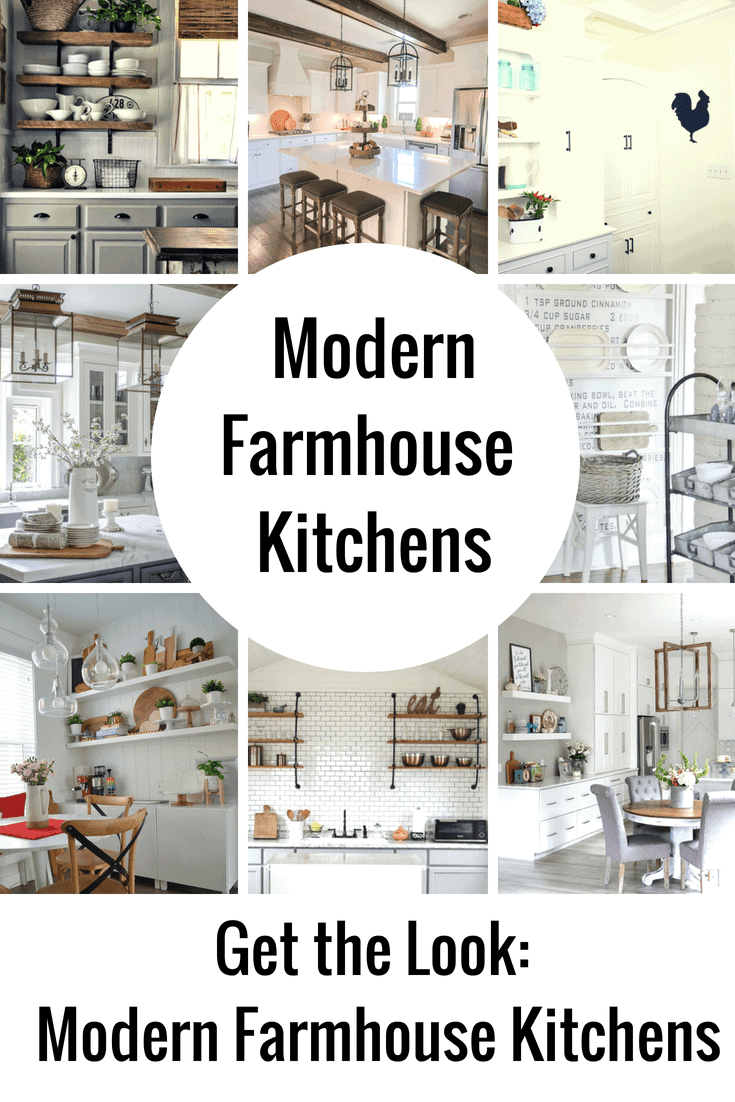 Dreamy Modern Farmhouse Kitchen Decor Ideas