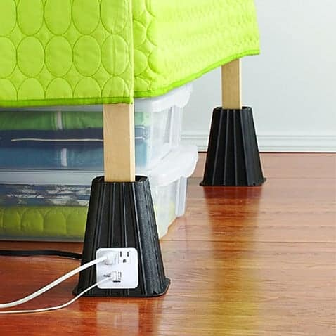 USB Bed Risers | College Packing and Dorm Must Haves!