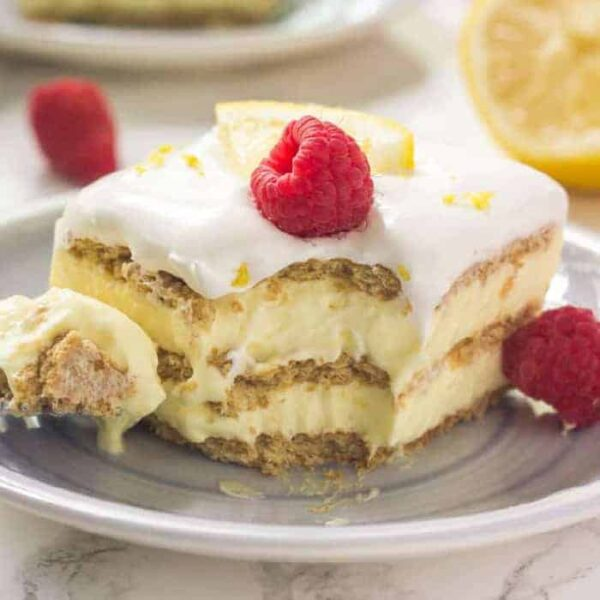 Lemon Icebox Cake featured image