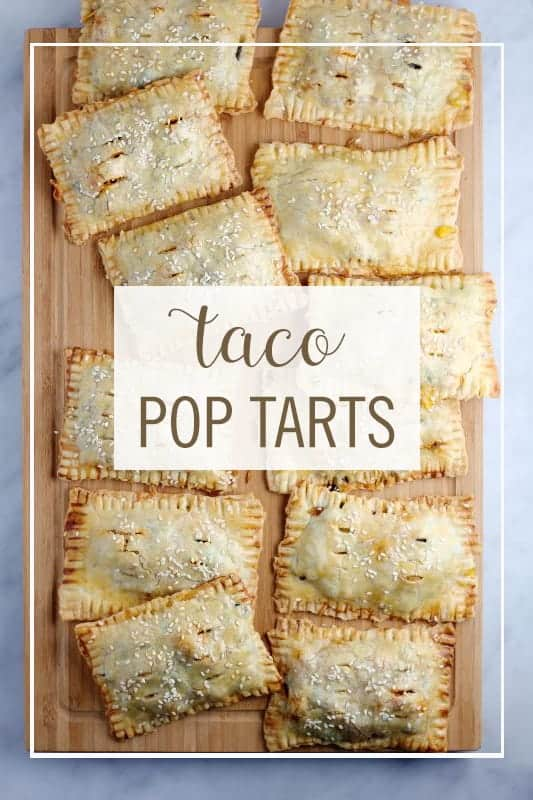 Taco Pop Tarts by Babble | Creative No Sandwich Lunchbox Ideas for Back to School