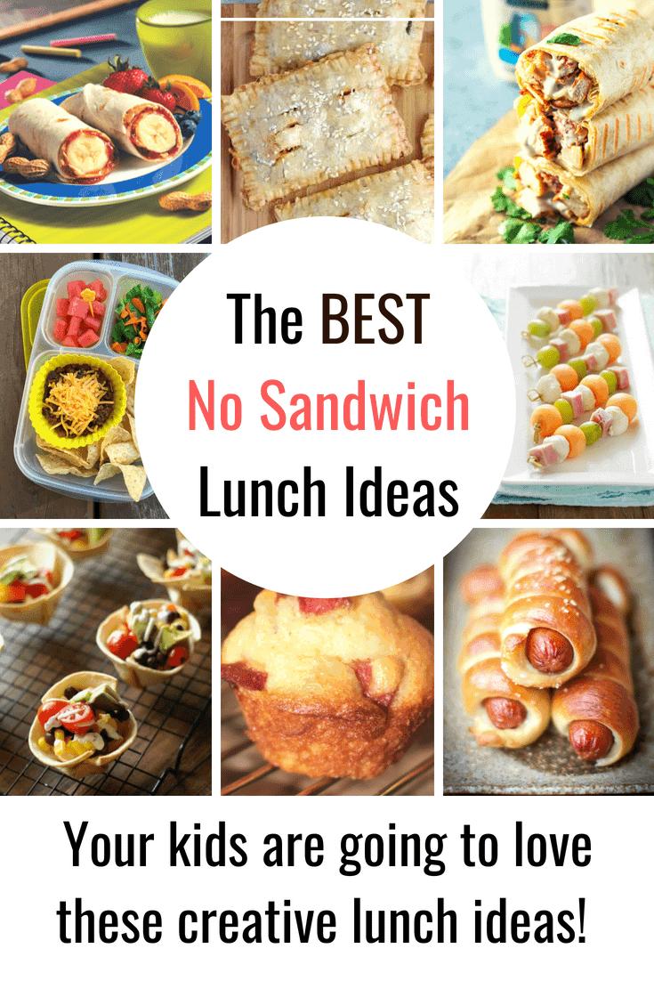 The Best No Sandwich Lunch Ideas