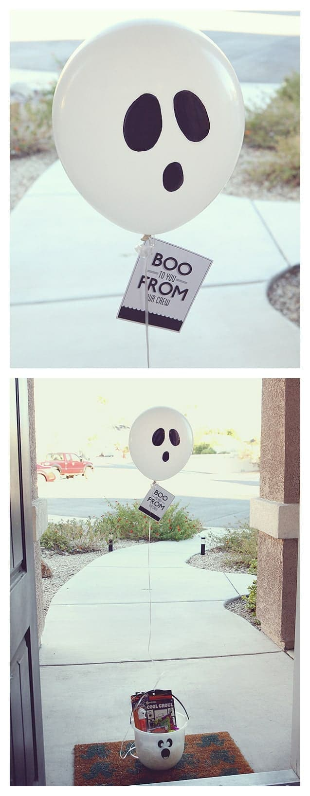 Boo to You by Eighteen 25 | Creative and Cute Ways to Boo!