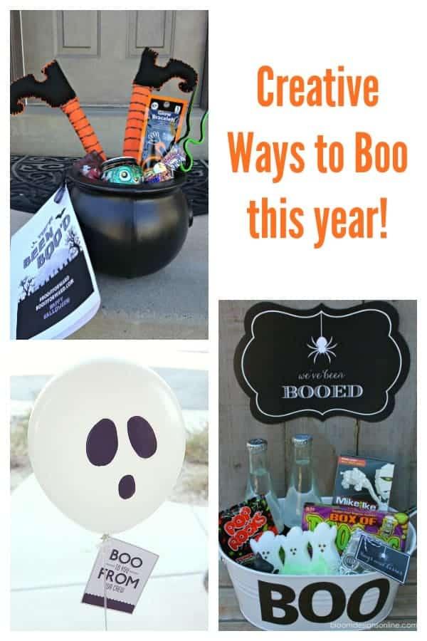 Creative Ideas to boo this Halloween!