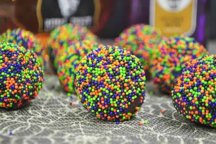 Easy truffles for Halloween