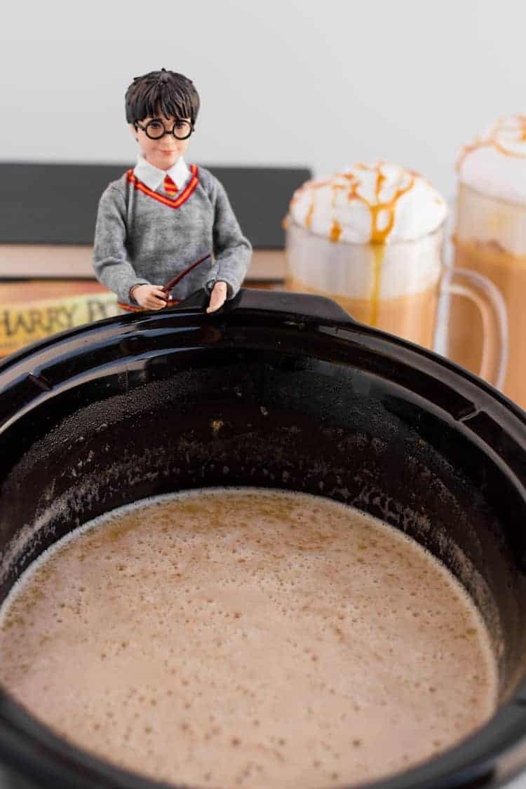 Harry Potter Butterbeer Recipe with crockpot
