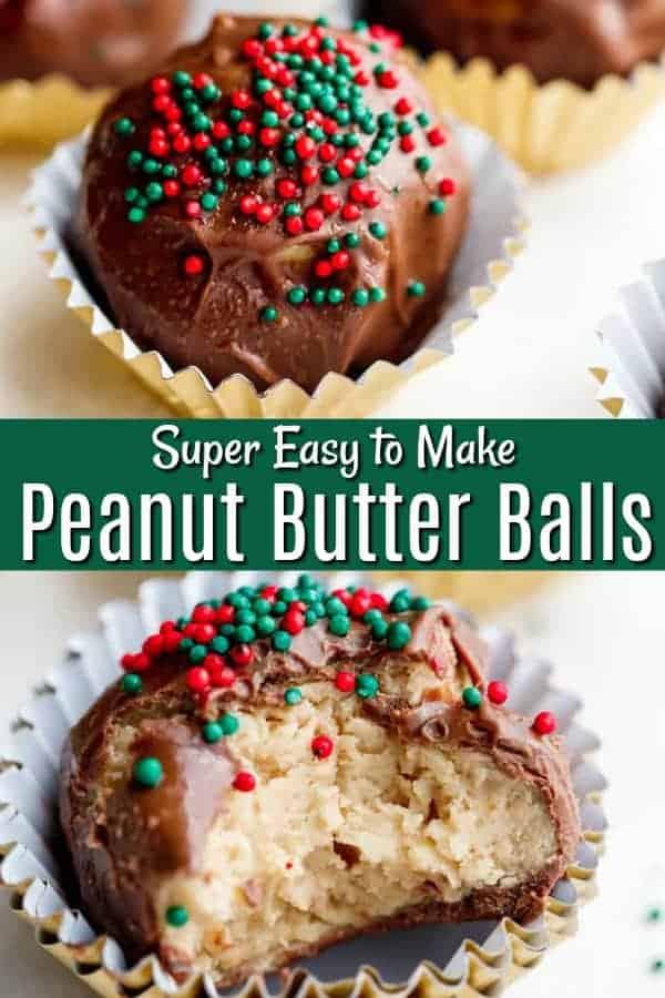 Peanut Butter Balls - Easy to Make