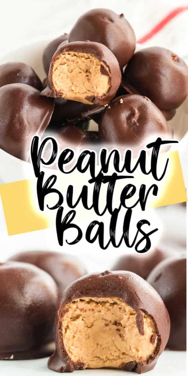 No-Bake Peanut Butter Balls