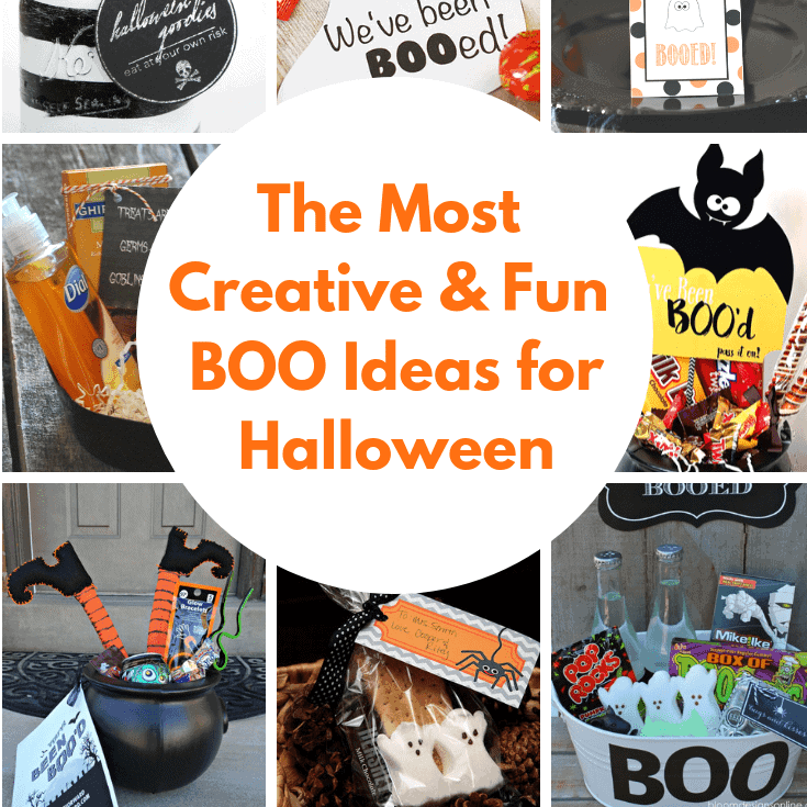 The Most Creative and Fun Boo Ideas for Halloween is Year!
