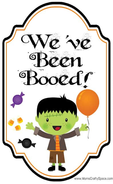 We've+Been+Booed+Free+Printable+Halloween+Boo from Happiness Is Homemade | Boo Printables that everyone will love!