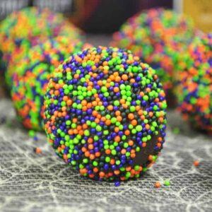 Halloween Chocolate Truffles {easy for any holiday}