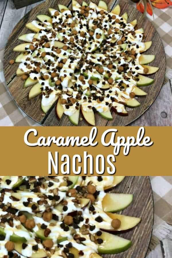 Caramel Apple Nachos Recipe