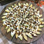 Caramel Apple Nachos {Loaded With Caramel and Marshmallow}