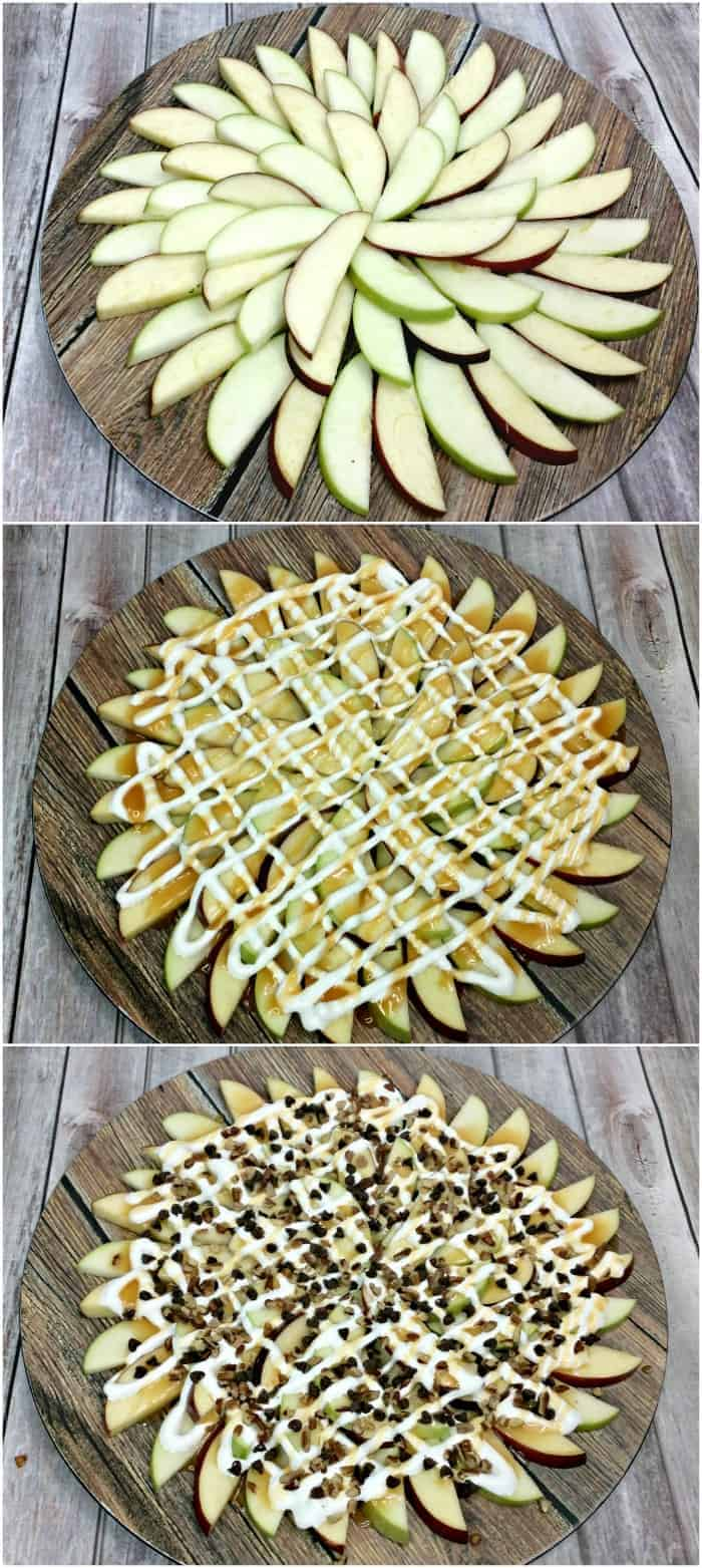 How to make Caramel Apple Nachos
