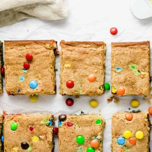 M&M Blondies Recipe