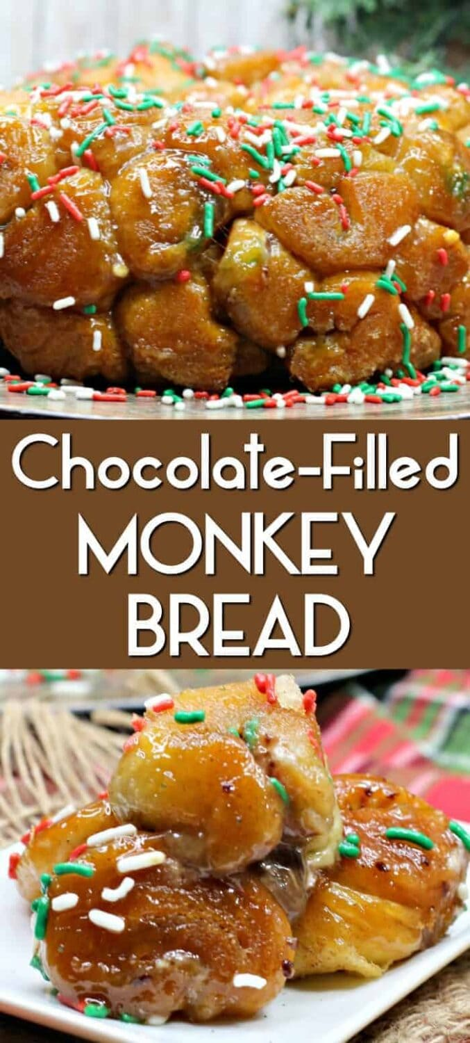 Chocolate Filled Monkey Bread