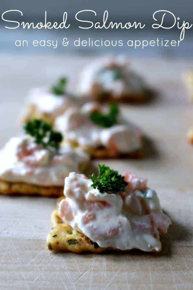 Easy Smoked Salmon Dip | 25 Make Ahead Appetizer Recipes for Thanksgiving