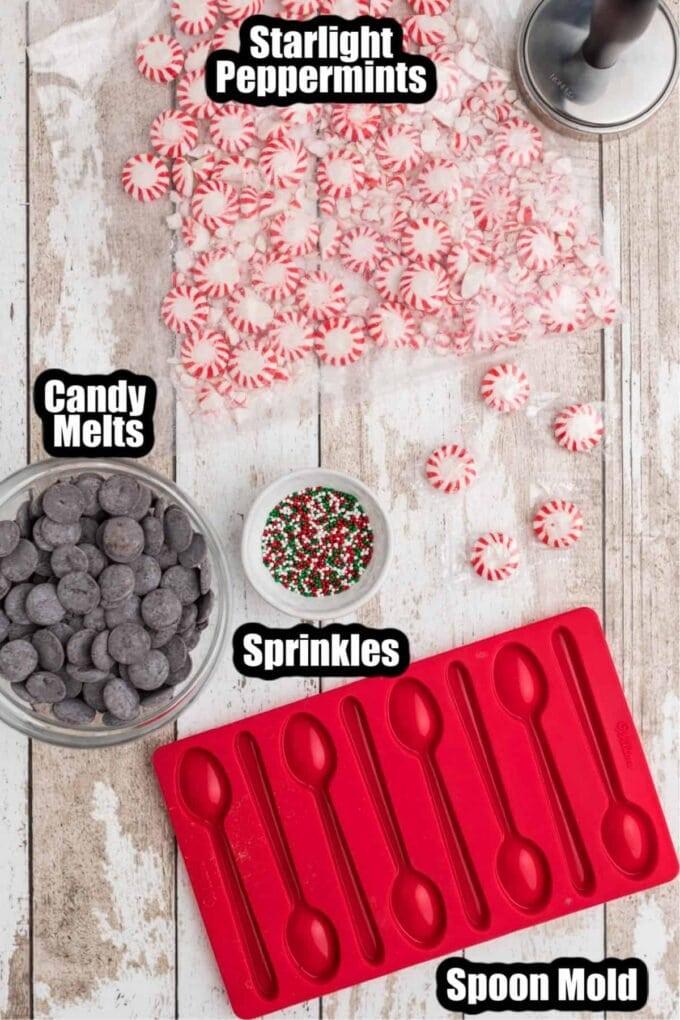 Peppermint Spoons Ingredients