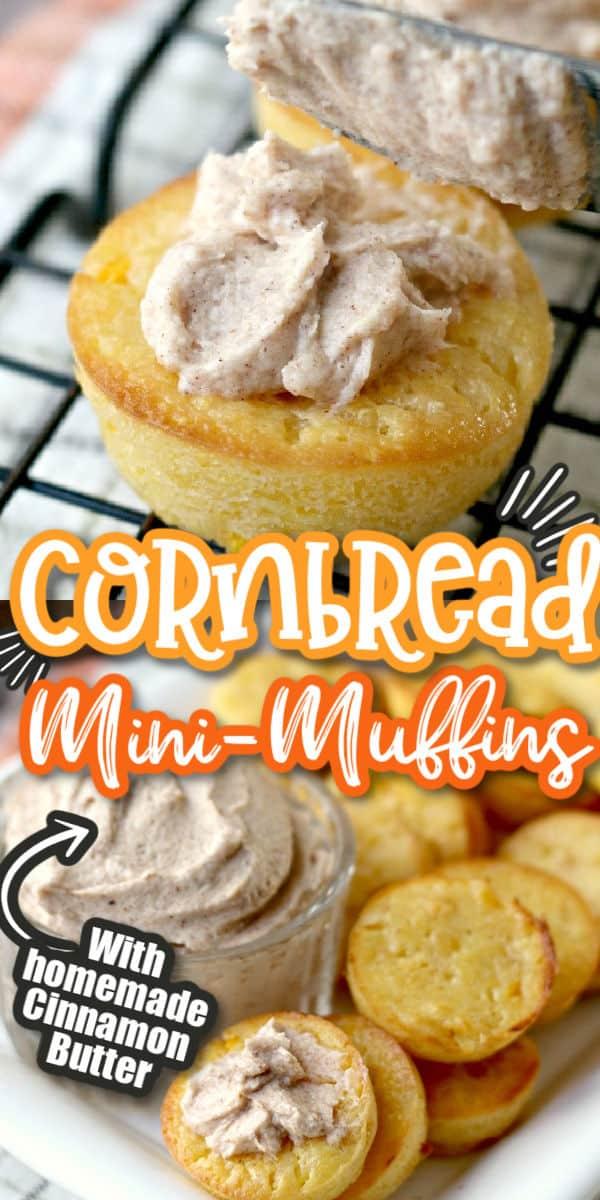 cornbread muffins pinterest image