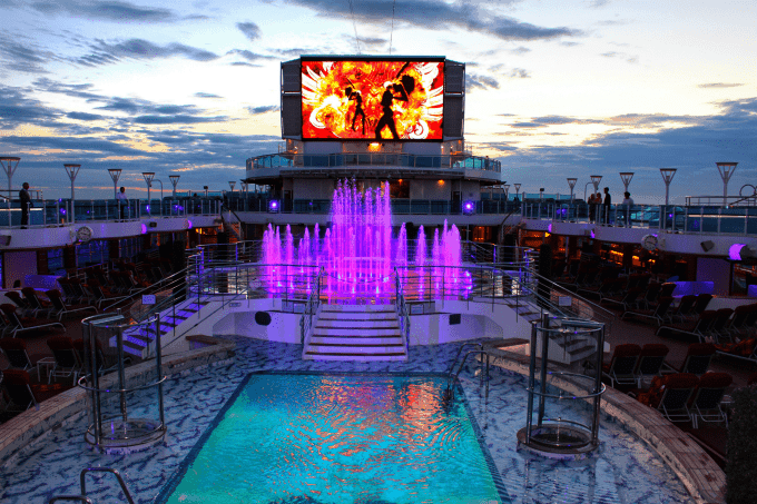 Royal Princess Water Feature