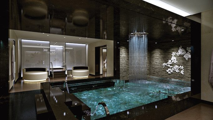 Thermal Suite,  The Enclave at the Lotus Spa