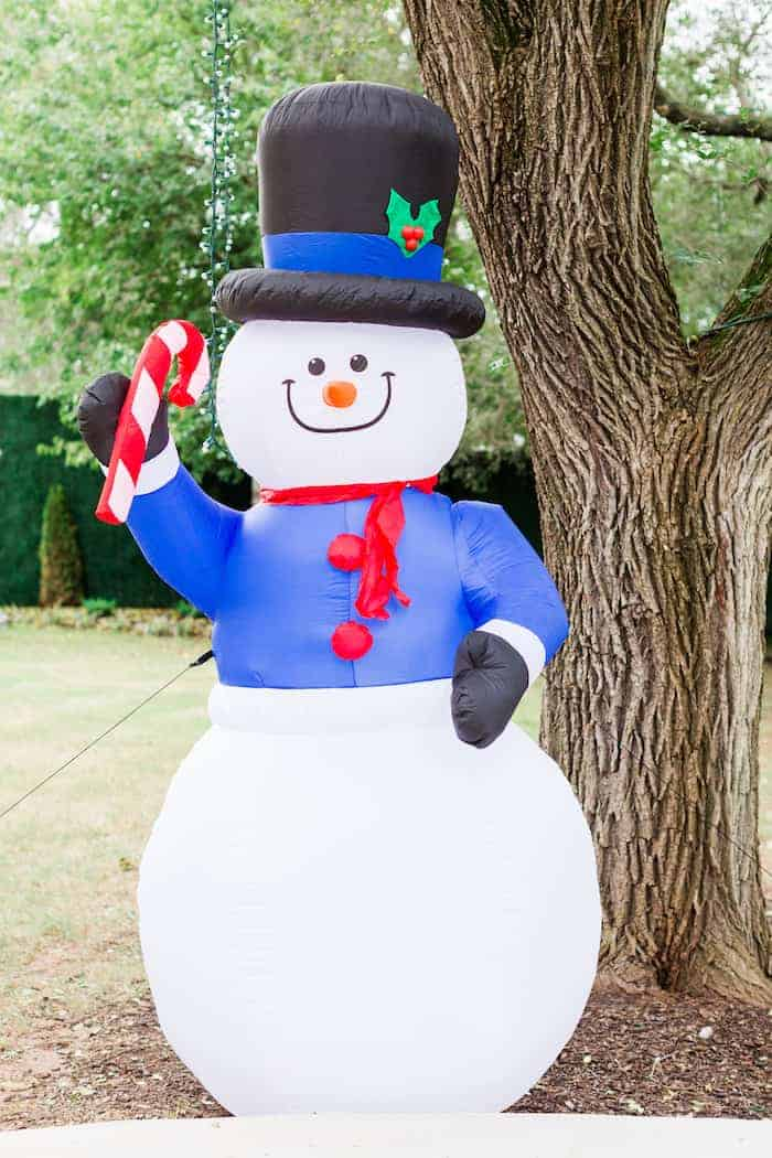 Walmart Black Friday Inflatable Snowman