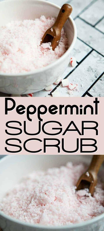 Easy Peppermint Sugar Scrub Recipe